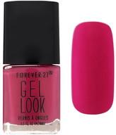 Forever 21 Pink Gel Look Nail Polish