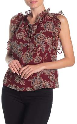 Heartloom Jackie Paisley Patterned Tank Blouse