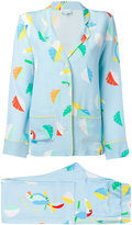 Mira Mikati printed bird pyjama - women - Silk - 36