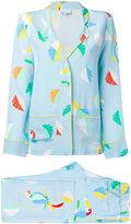 Mira Mikati printed bird pyjama