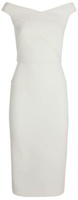 Roland Mouret Wool Amarula Dress