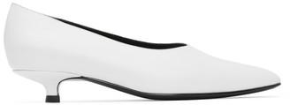 Dorateymur White Cigarette Closed Heels