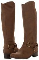 Romantic Soles Lynnea Boot (Medium Brown Crazy Horse) - Footwear