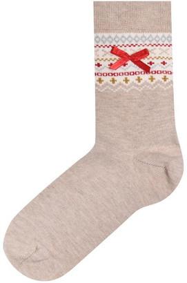 Pretty Polly PP Polar Bear Sock Ld94