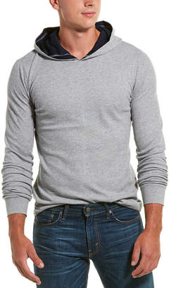 Vince Thermal Knit Pullover Hoodie