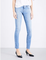 Givenchy Star-motif skinny mid-rise jeans