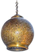 One Kings Lane Vintage Handmade Moroccan Brass Pendant