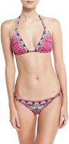 Camilla Gold Ball Printed Bikini Set, Desert Discotheque
