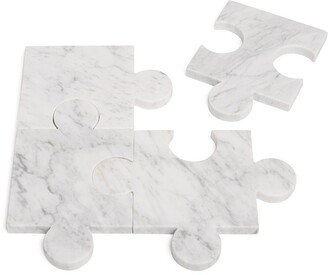 Tre Product Puzzle Coasters (Set Of 4)