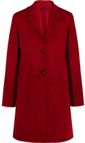The Row Nisa Suede Jacket - Red
