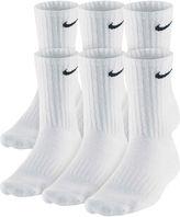 Nike 6-pk. Performance Cotton Crew Socks