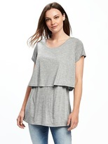 Old Navy Maternity Double-Layer Nursing Top