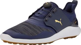 Puma Men's Ignite Nxt Disc Golf Shoes Gray Black Silver White 01 9.5 UK 44 EU