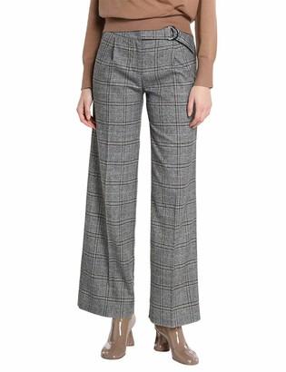 APART Fashion Women's Checks Business Casual Pants