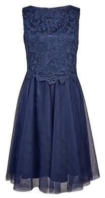 Dorothy Perkins Womens **Showcase Navy Prom Dress