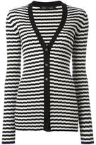 Proenza Schouler striped cardigan - women - Silk/Cashmere - L