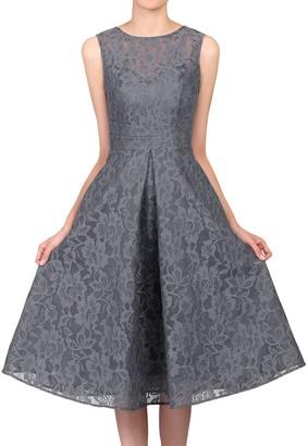 Jolie Moi Bonded Lace Prom Dress