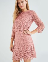 Little Mistress Crochet Midi Dress