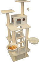 """JCPenney Majestic Pet 72"""" Bungalow Cat Tree with Stairs"""