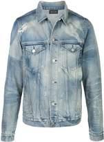 John Elliott stonewashed denim jacket
