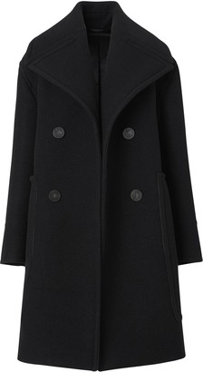 Burberry Oversized Wool Peacoat