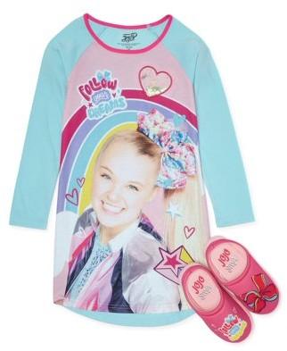 Jojo Siwa Girls Pajama Nightgown Sizes 4-12