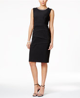 Connected Petite Embellished Sheath Dress