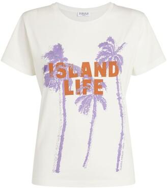 Claudie Pierlot Slogan T-Shirt