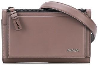 Ermenegildo Zegna Xxx Small Logo Messenger Bag
