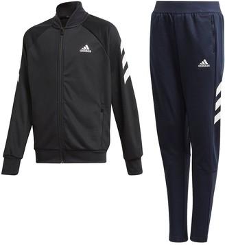 adidas Boys XFGTracksuit - Black/Navy
