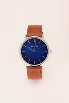 Nixon - Watches & jewellery - a1058-2694-00 porter leather - Blue / Navy