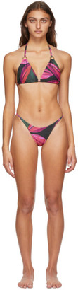 Louisa Ballou Pink Mini Ring Bikini