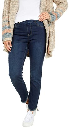 Tribal Audrey Pull-On Ankle Jeggings in Dark Blue (Dark Blue) Women's Jeans