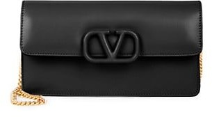 Valentino VSling Leather Wallet-On-Chain