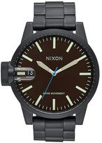 Nixon Men&s Chronicle Stainless Steel Watch