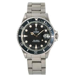 Tudor Submariner Black Steel Watches