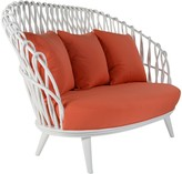 The Well Appointed House Sanibel Rattan Loveseat - Variety of Finishes Available