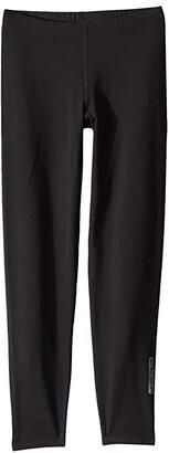 Hot Chillys Kids Micro Elite Chamois Tights (Little Kids/Big Kids) (Black) Kid's Casual Pants