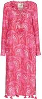 Figue Cerelina batik-print midi dress