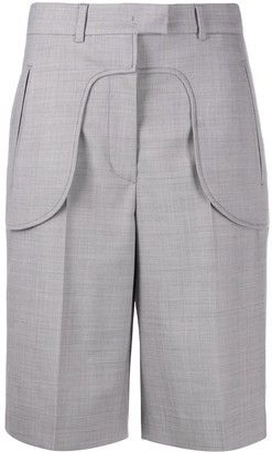 Sportmax Exposed-Face Bermuda Shorts