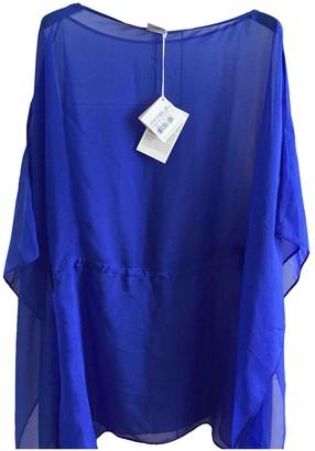 La Perla Blue Silk Dress for Women