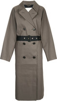 MACKINTOSH Taupe Black coat