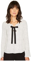 Vince Camuto Long Sleeve Elegant Speckles Lace-Up Blouse Women's Blouse