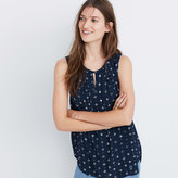 Madewell Memory Tank in Medallion Dot