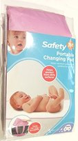 Cosco Safety 1st Portable Baby Changing Pad with Water Resistant Surface (Pink)
