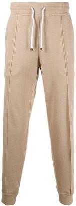 Brunello Cucinelli Khaki Track Trousers