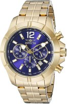 Invicta Men's 21465 Specialty Analog Display Japanese Quartz Gold Watch