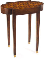John-Richard Collection Herringbone Side Table, Walnut