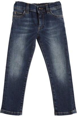 Dolce & Gabbana Stretch Cotton Denim Jeans