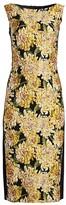 Escada Dlleha Chrysanthemum Jacquard Sheath Dress